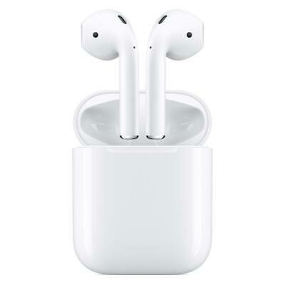 Apple AirPods White MV7N2AM/A In Ear Bluetooth Headset W/ Charging Case-New