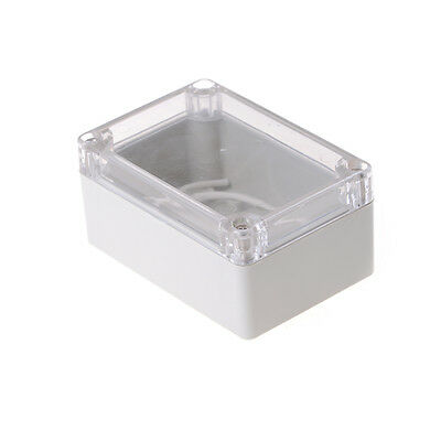 100x68x50mm Waterproof Cover Clear Electronic Project Box Enclosure Case Pip gq