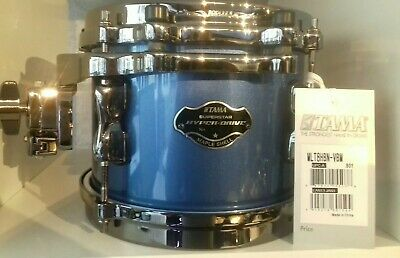 "Tama Supertar Maple Tom 8""X6"" MLT8HBN-VBM Vintage Blue Metallic"