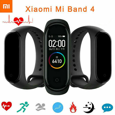 "Xiaomi Mi Band 4 Smart Bracelet Watch Wrist 0.95"" AMOLED Screen 50M Waterproof"