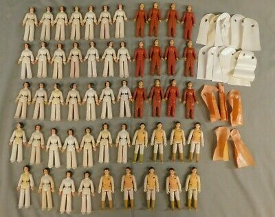 Vintage Star Wars Princess Leia Organa 1977 Hoth 1981 Bespin 1980 53 Figure Lot