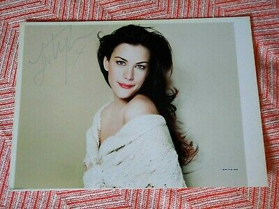 Liv Tyler Signed Photo 8X10 With Coa Arwen Autograph Picture