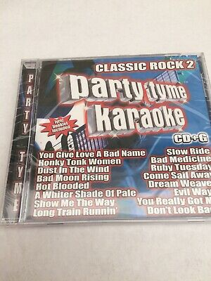 BRAND NEW HOUSE Party Karaoke Classic Rock Hits CD - $12 99