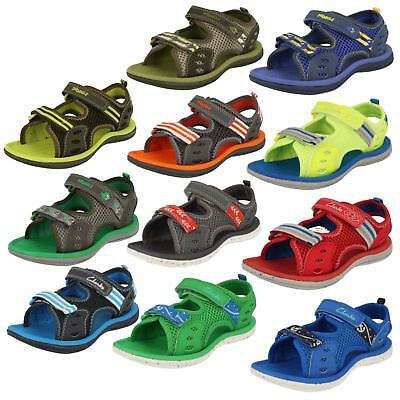 CLARKS BOYS SANDALS /'PIRANHA BOY/' AVAILABLE IN 3 COLOURS