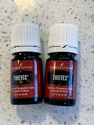 Young Living Thieves 5 ml Essential Oil Free Shipping