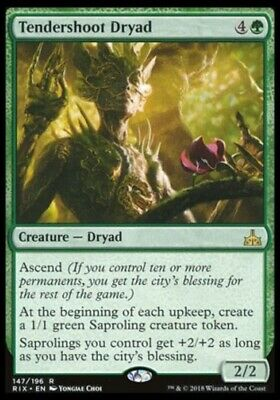 Magic the Gathering - Tendershoot Dryad - Rivals of Ixalan NM/M BONUS
