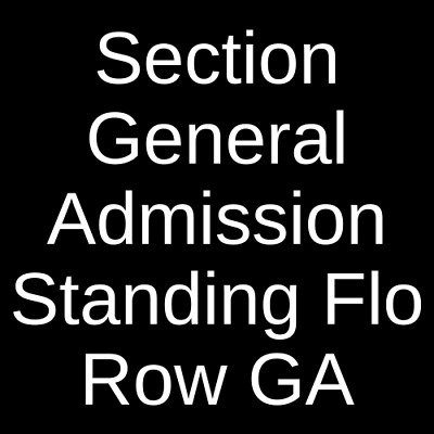 2 Tickets Rufus Du Sol 7/25/19 ACL Live At The Moody Theater Austin, TX