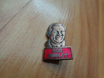 Classic Liverpool Fc Bob Paisley Manager Football Enamel Pin Badge