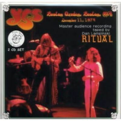 NEW YES 	RITUAL 2CD #Ke