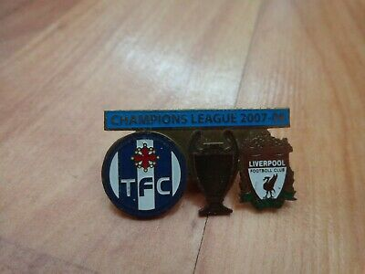 Liverpool Fc V Toulouse Fc 2007/08 Champions League Qualifier Matchday Pin Badge