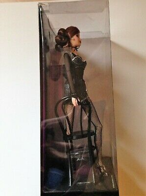 LINGERIE  BARBIE DOLL TOP MODEL MUSE BLACK FISHNET STOCKING ACCESSORY CLOTHING