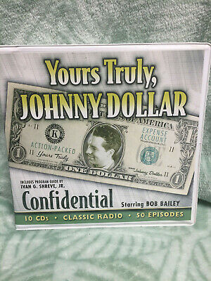 Yours Truly, Johnny Dollar -classic Radio - Confidential