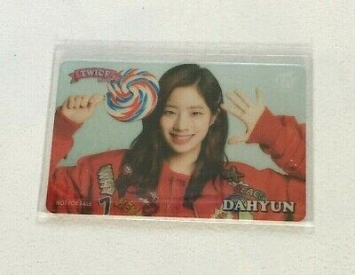 Twice #Twice Candy Pop Lottery Transparent Photocard - Dahyun (Extremely Rare)
