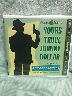 Yours Truly, Johnny Dollar -classic Radio - Murder Matters