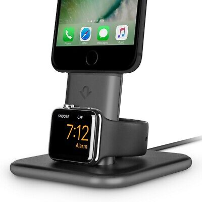 TWELVE SOUTH HiRise Duet - desktop dual charger stand for iPhone and Apple Watch