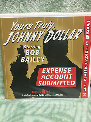 Yours Truly, Johnny Dollar -classic Radio - Expense account submitted