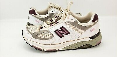 dc7becd36e9c8 NEW BALANCE 1123 White Women Running training athletic Shoes size 9D Wide