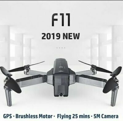 SJRC F11 RC Foldable Brushless Drone Quadcopter 5G Wifi FPV 1080P HD Camera GPS