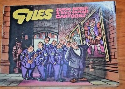 GILES CARTOON ANNUAL No. 8 from 1953-4; Sunday Daily Express; Original