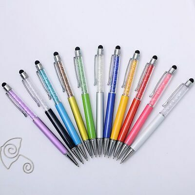 Creative Crystal Ballpoint Pen Touch Screen Cute Multi Function Stationery Gift