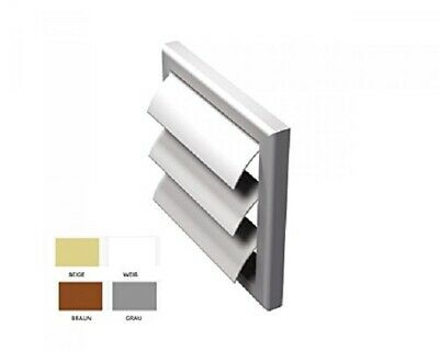 Vents Mv 100 J Square Blinds Exhaust Grid with Moveable Fins