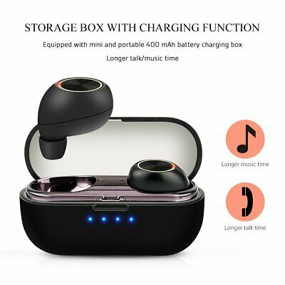 Mini TWS True Wireless In-Ear 3D Stereo Bluetooth V4.2 Earphones Earbuds Headset