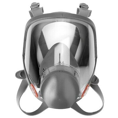 Respirator Gas Mask Cartridge Silicone Spherical Full Face Respirator Gas Mask