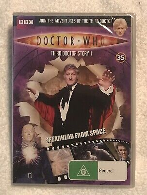 Doctor Who Spearhead From Space DVD Region-4 Brand New