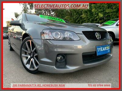 2011 Holden Commodore VE II SS-V Grey Manual 6sp M Sedan