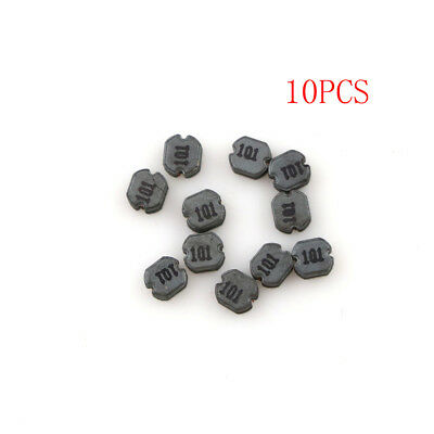 10Pcs CD32 100uH 101 SMD Power Inductors Diameter:3mm High:2mm HQ