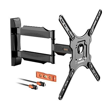VonHaus 23-55 Inch TV Wall Bracket Mount - Tilt and Swivel Swing Arm Cantilever