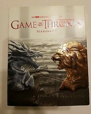 Game of Thrones: Complete Series Season 1-7 Bluray Box Set  (No Digital)