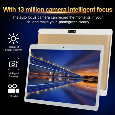 """Tablet pc 10"""" 4G + 64G Dual Sim Kamera 10 core tablet android 8.1 3g WIFI CT"""