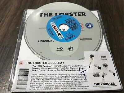 THE LOBSTER (Blu-ray, 2015) DISC ONLY
