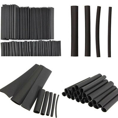 127Pcs Adhesive Lined Heat Shrink Sleeving 2:1 Weatherproof Heatshrink Tubing HQ