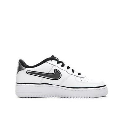 Juniors NIKE AIR FORCE 1 LV8 SPORT GS White Trainers AR0734 100