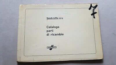 Innocenti Lambretta 150 Li 1958 catalogo ricambi originale spare parts catalogue