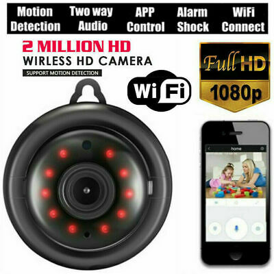 CA STOCK HD 1080P Wireless Mini WIFI IP Smart Home Security Camera Night Vision