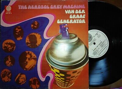 *LP - THE AEROSOL GREY MACHINE-VAN DER GRAAF Generator 1969