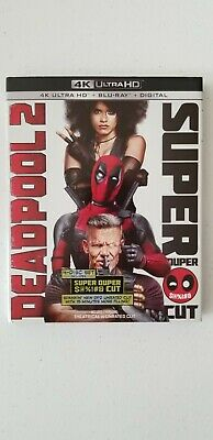 Deadpool 2 Super Cut (4K Ultra HD / Blu-Ray) w/slipcover & digital