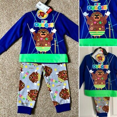 Tu HEY DUGGEE Boys Blue Cotton Pyjamas - 3-4 Years - Brand New &  Tagged!
