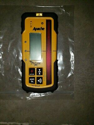 New Apache Storm Laser Level Receiver Same As Spectra Hl700,Topcon,Rugby