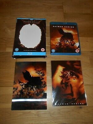 Batman Begins Blu Ray Limited Edition With Postcards And Lenticular Art