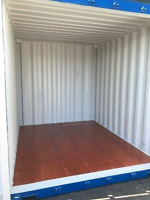 Shipping Containers 10 Ft Blue Marchwood £2175+ Vat 07505-362303
