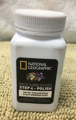National Geographic Grit Refill for Rock Tumbler (Step 4 Polish)  READ