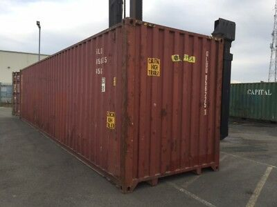 Shipping Containers 40 Ft High Cubes Used Leeds £1495+Vat 01133-200316