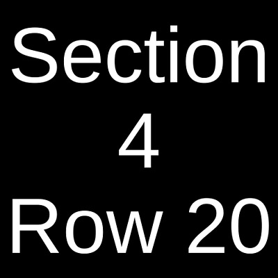 3 Tickets Masters of Ceremony: Snoop Dogg, 50 Cent, DMX & T.I. 6/28/19