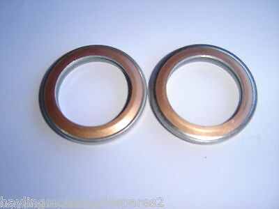 Yamaha  Rd350 Lc Rd 350 Lc 80-85 Exhaust Gaskets X2 New