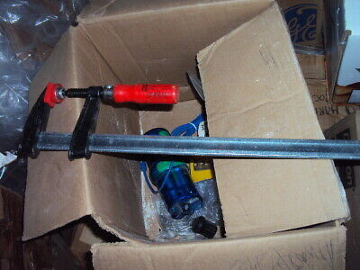 """BEESEY TGJ2-518 18"""" Bar Clamp with Composite Plastic Handle , 2 UNITS"""