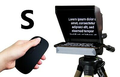 Teleprompter Black Fish S. Most Compact Prompter for iPhone and Smartphone
